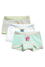 Lot de 3 boxers - Blanc/My Little Pony - ENFANT | H&M FR 2