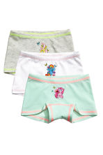 Lot de 3 boxers - Blanc/My Little Pony - ENFANT | H&M FR 1