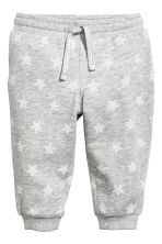 Patterned sweatpants - Grey/Stars - Kids | H&M 1