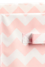 Storage box - Light pink/Patterned - Home All | H&M CN 2