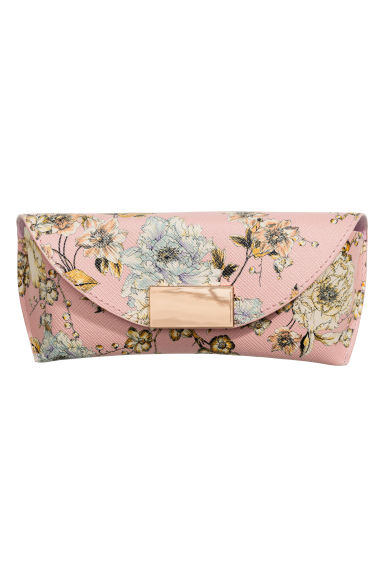 Glasses case - Light pink/Floral - Ladies | H&M