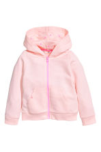 Hooded jacket - Light pink - Kids | H&M CN 2