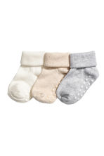 3-pack socks - Natural white - Kids | H&M 1