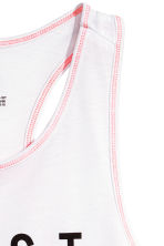 Sports top - White - Kids | H&M 3