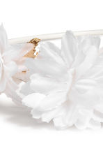 Hairband with flowers - White - Kids | H&M CA 2