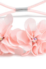 Hairband with flowers - Light pink - Kids | H&M CN 2