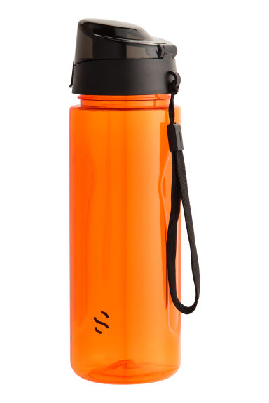 Water bottle with lid - Orange - Men | H&M 1
