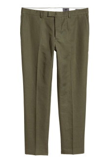 Suit trousers in a linen blend