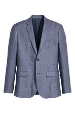 Jacket Slim fit - Blue marl - Men | H&M CA 2