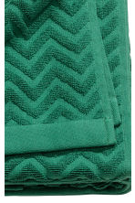 Telo bagno jacquard - Verde scuro - HOME | H&M IT 3
