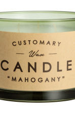 Candela profumata in vasetto - Verde nebbia/Mahogany - HOME | H&M IT 3