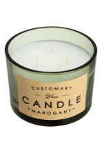 Candela profumata in vasetto - Verde nebbia/Mahogany - HOME | H&M IT 2