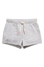 Jersey shorts - Grey heart - Kids | H&M 2