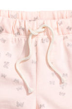Jersey shorts - Light pink/Butterflies - Kids | H&M CN 3