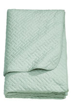Quilted bedspread double - Dusky green - Home All | H&M CA 2
