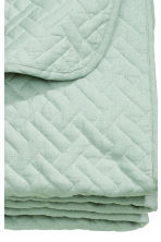 Quilted bedspread double - Dusky green - Home All | H&M CA 3