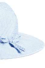 Sun hat - Light blue -  | H&M CN 2