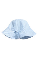 Sun hat - Light blue -  | H&M CN 1