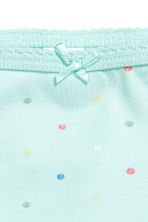 2-pack bodysuits - Mint green/Spotted - Kids | H&M 3