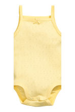2-pack bodysuits - Yellow - Kids | H&M 3