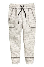 Sweatpants - Natural white marl - Kids | H&M 2