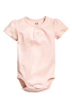 2-pack bodysuits - Nat. white/Spotted - Kids | H&M CN 2