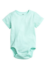 2-pack bodysuits - Mint green - Kids | H&M CN 2