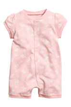 Lot de 3 pyjamas - Rose poudré - ENFANT | H&M FR 2
