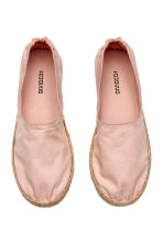 Espadrilles - Powder pink - Ladies | H&M CN 2