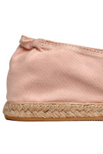 Espadrilles - Powder pink - Ladies | H&M CN 4