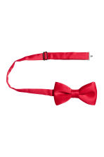 Satin bow tie - Red - Men | H&M 2