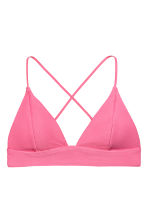 Triangle bikini top - Pink - Ladies | H&M 2