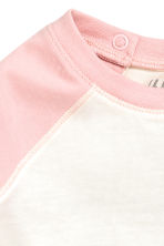 Long-sleeved T-shirt - Light pink -  | H&M 2