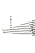 比基尼上衣 - White/Grey striped - Ladies | H&M 3