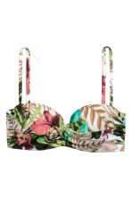 Bikini top - White/Patterned - Ladies | H&M 2