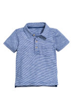 Polo shirt - Dark blue -  | H&M 1