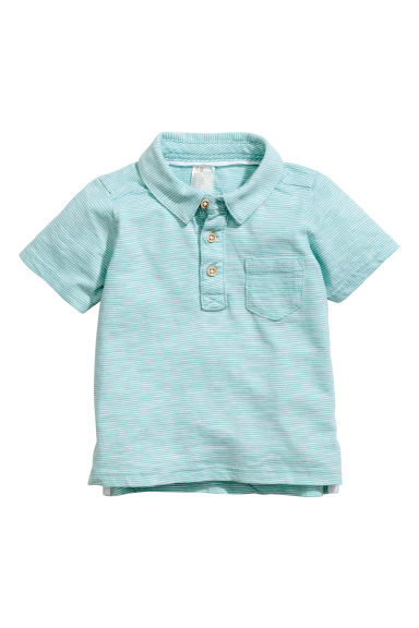 Polo - Turkoois -  | H&M BE 1