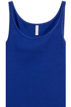 Jersey vest top - Cornflower blue - Ladies | H&M CN 3