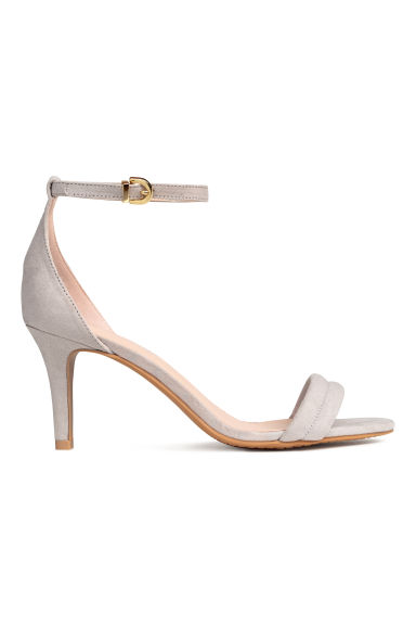 Sandals - Light grey - Ladies | H&M CN