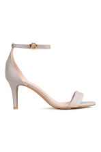 Sandals - Light grey - Ladies | H&M 1