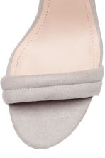 Sandals - Light grey - Ladies | H&M 3