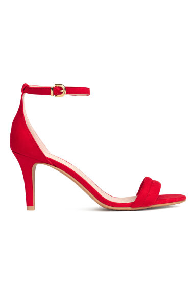 Sandals - Red - Ladies | H&M IE