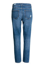 Girlfriend Trashed Jeans - Blu denim scuro - DONNA | H&M IT 3