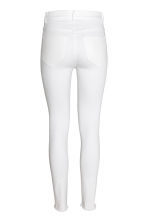 Skinny High Ankle Jeans - White denim - Ladies | H&M 2