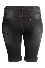H&M+ Denim shorts - Black denim - Ladies | H&M 3