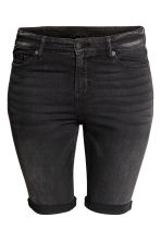 H&M+ Denim shorts - Black denim - Ladies | H&M 2