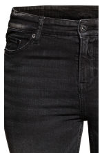 H&M+ Denim shorts - Black denim - Ladies | H&M 4