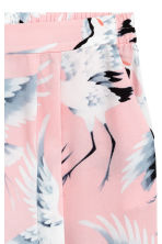 H&M+ 印花短褲 - Light pink/Birds - Ladies | H&M 2