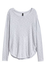 Fine-knit jumper - Grey - Ladies | H&M 2