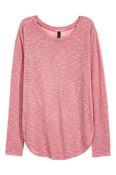 Fine-knit jumper - Pink - Ladies | H&M